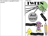 Tween Zine Magazine for Classroom Learning Issue 1