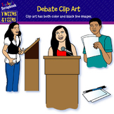 Tweens & Teens: Debate Clip Art