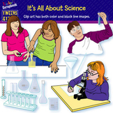 Tweens & Teens: It's All About Science Clip Art