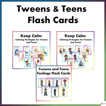 Tweens and Teens Flash Cards Bundle