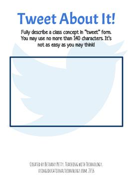 Tweet About It!