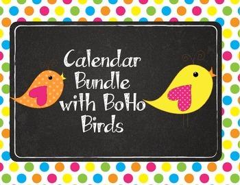 Tweet! Cute Bird Calendar Bundle