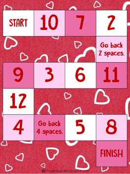 Tweet Heart Multiplication Game