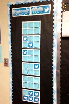 Tweet Me Exit Ticket Wall Headings By Lauren Baladez Tpt