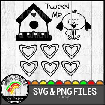 Tweet Me SVG Designs