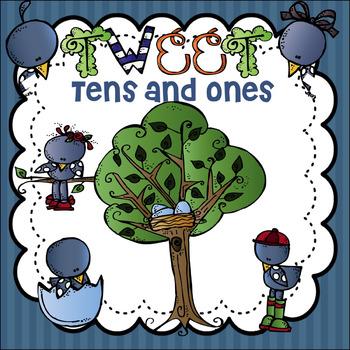 Tweet Tens and Ones Freebie