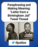 Tweet Thread: Letter from A Birmingham Jail by Martin Luther King