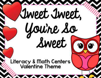 Tweet Tweet, You're So Sweet Valentine Centers