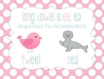 Tweet Tweet! {long vowel ea, ee} Word Work