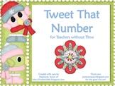 Tweet that Number