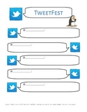 TweetFest - interpersonal writing activity using Twitter