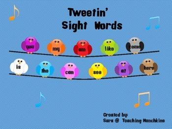 Tweeti' Sight Words