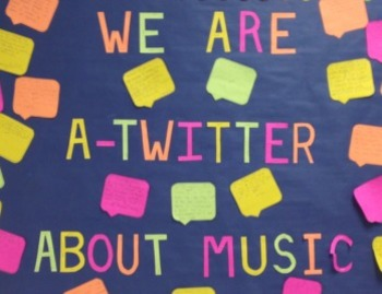Tweeting About Music