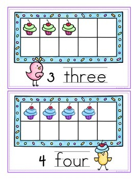 Tweeting Number Words - A Write the Room Activity