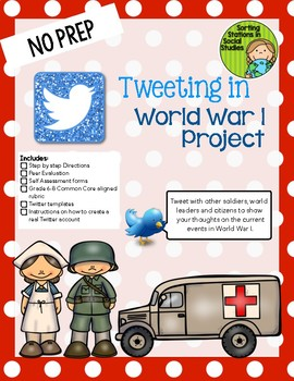 Tweeting World War I (WWI) Project