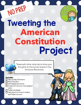 Tweeting the American Constitution Project