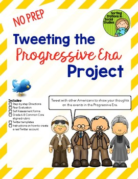 Tweeting the Progressive Era Project
