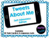 Tweets About Me: Self-Advocacy for Deaf and Hard of Hearing Students