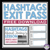 FREE EXIT PASS: HASHTAGS