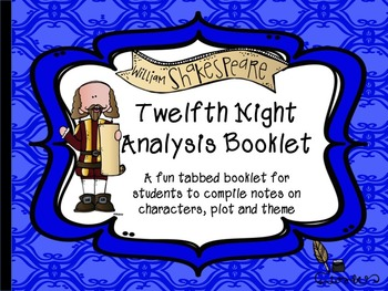 Twelfth Night Analysis Booklet