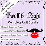 Twelfth Night Complete Unit Bundle
