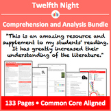 Twelfth Night – Comprehension and Analysis Bundle