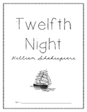 Twelfth Night Cover Page
