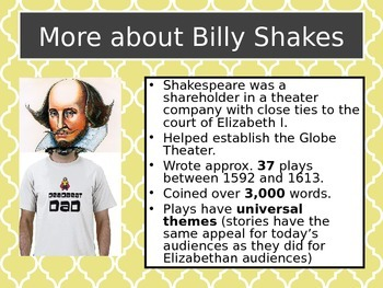 Twelfth Night Shakespeare Introduction Slideshow