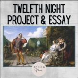 Twelfth Night Essay & Projects for AP Lit