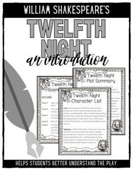 twelfth night vs she s the man Our class has recently watched the play twelfth night and then the movie she's the man there were many similarities between the play and the movie, but also many differences too.