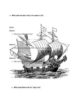 Twelfth Nigth Study Guide
