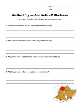 Twelve Acts of Kindness
