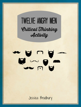 Twelve Angry Men Critical Thinking Activity