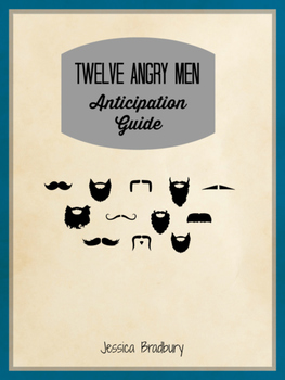 Twelve Angry Men Anticipation Guide
