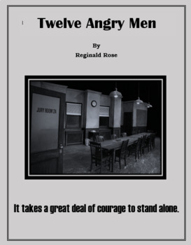 Twelve Angry Men Complete Unit
