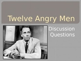 Twelve Angry Men - Discussion Questions