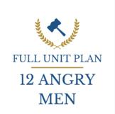 Twelve Angry Men Full Unit Plan