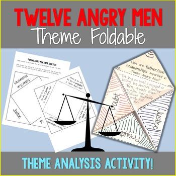 Twelve Angry Men Theme Foldable