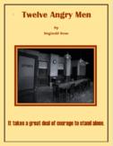 Twelve Angry Men Short Response Quizzes
