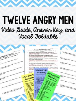 Twelve Angry Men Lesson Bundle -  Judicial Branch Unit