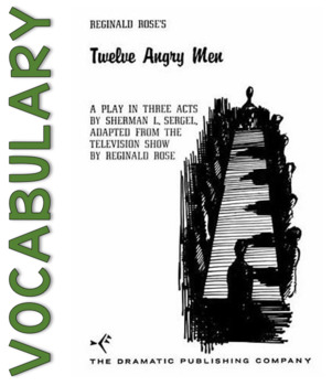 Twelve Angry Men Vocabulary