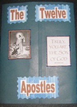 Twelve Apostles Catholic Lapbook