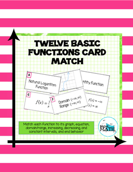 Twelve Basic Functions Card Match