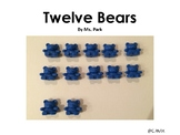 FREE Kindergarten Math mini book: Twelve Bears