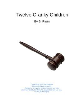 Twelve Cranky Children Play Elementary Script Drama Club Readers Theater