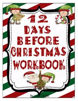 Twelve Days Before Christmas Workbook
