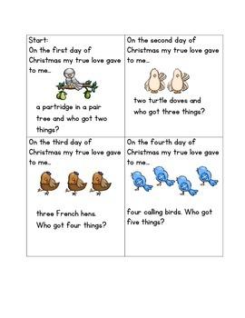Twelve Days of Christmas 10 Frame