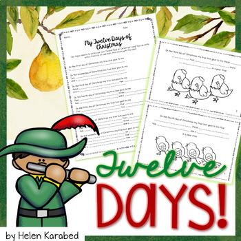 Twelve Days of Christmas Booklet!
