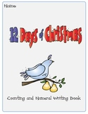 Twelve Days of Christmas Counting and Numeral Writing Book