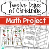 Twelve Days of Christmas Math Project